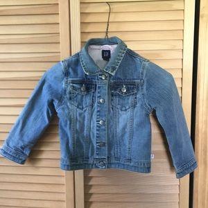 Little girls Gap jean jacket